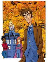 Doctor Who colored by gianmac