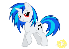 Vinyl Scratch by MidnaChangeling
