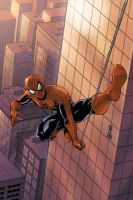 Spidey Swingin' by UdonCrew