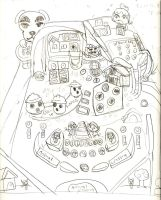Animal Crossing Pinball concept. by LimeTH