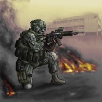 Le Spetsnaz by panbot87