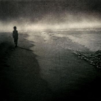 : alone with the waves : by utopic-man