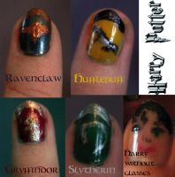 Right hand: Harry Potter by NeoQueenSerenety