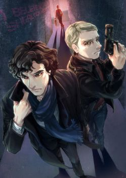 Sherlock and John are one ! by arashicat