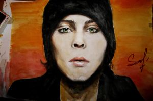 Ville Valo by AlinaGorn
