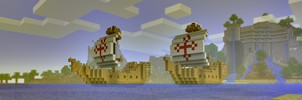 Minecraft Spanish Armada by MadMilov2