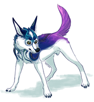 Pretty Doge by VCR-WOLFE