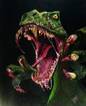 Turok Painting by TouchedbyLavender