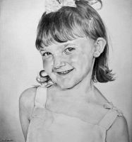 Drawing of a Girl by emueller