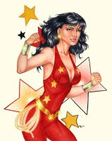 Wonder Girl, old school by Dangerous-Beauty778