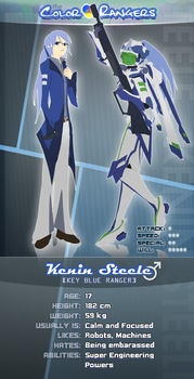 Color Rangers ID: Key Blue by Eugeneration