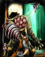 Bioshock - Big Daddy by Thrakks
