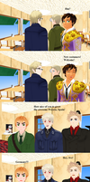 MMD Hetalia - Three Cafe countries United pt. 4 by PikaBlaze