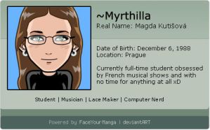 Face Your Manga ID by Myrthilla