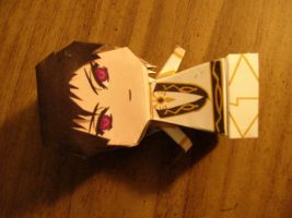 Lelouch papercraft photo 1 by ryoukamui