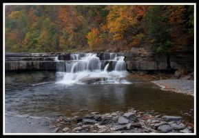 Taughannock Gorge Cascade by ambermac148
