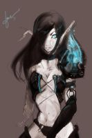 Death Knight by litzie