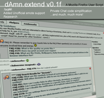 dAmn.extend - a dAmn extension by siebenzehn