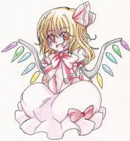 Flandre in Remilia suit by TsukiHina