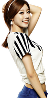 Sojin (Girl's Day) PNG Render by classicluv