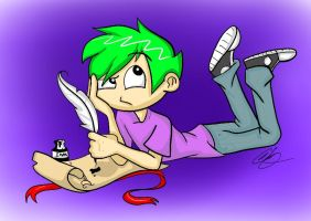 Human Spike: Request by rainbowdash-swag