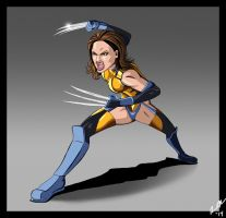 Lady Wolverine by chaos6x9
