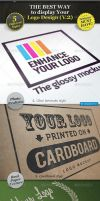 5 Realistic Logo Mockups - Smart Template V.2 by carlosnance