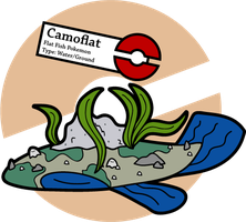 Fake Pokemon: Camoflat 2.0 by Sageroot