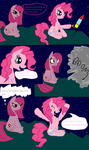 comic: let pinkie pie away from fireworks by cynder45667