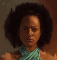 Missandei - Games Of Throne by MatteoAscente
