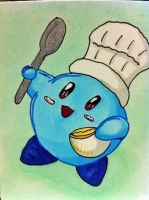 Blue Kirby ACEO by bittykitty