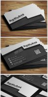 Print of the Digistudio Business Card by Ja-Ghraphics