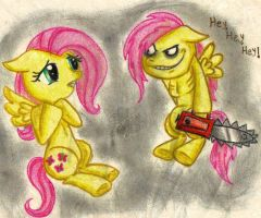 .:Fluttershy-and-Murdershy:. by stargrace97