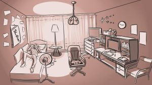 My Room by TheCrayonSauce