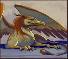 The Gryphon by CCampbellArt