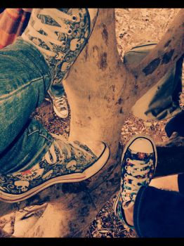 This is not a Converse AD. by Ethel-Phate