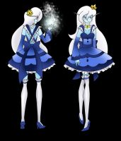Darling Army Pinafore entry 1#: Ice Queen by chi171812