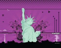 Statue of Liberty by angel69light