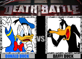 DEATH BATTLE 22: Donald Duck VS Daffy Duck by totalgymvssonic
