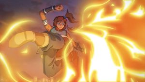 The Last Airbender - Korra by moxie2D
