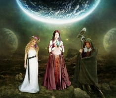 Maiden, Mother, Crone by archseer