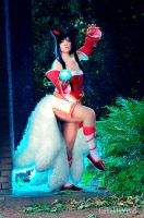 Ahri the fox- League of Legends by Nahlarys