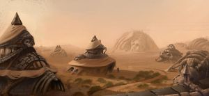 desert scene by coolhead1