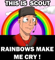 Scout TF2 spray by danwolf15