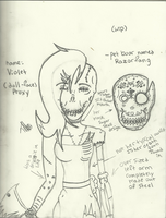 Violet (Doll Face Proxy) by Dysfunctional-H0rr0r