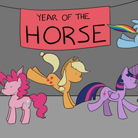 year of the horse by RapidStrike