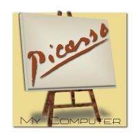 Picasso My Computer by sevensteps2heaven