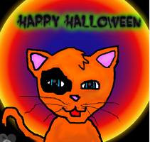 Happy Halloween: Kitty by divacnr