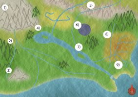 map of were Wolf shifter is set by wolfe111