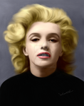 Marylin by ValantisDigitalArt